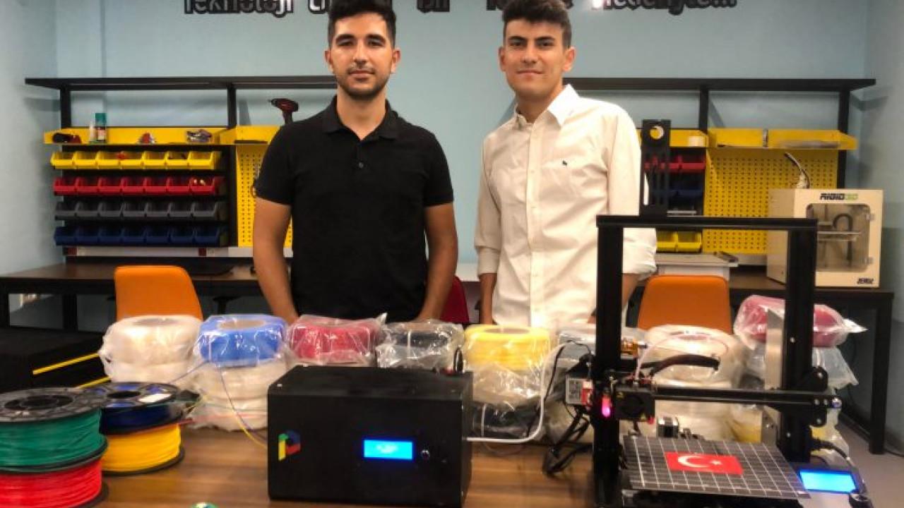 Co Print'ten, 3D Yazıcıda Tek Baskıda Çok Renkli Çıkış
