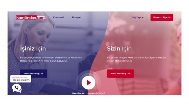 BDDK Onaylı İlk Portal: Hamilinden.com